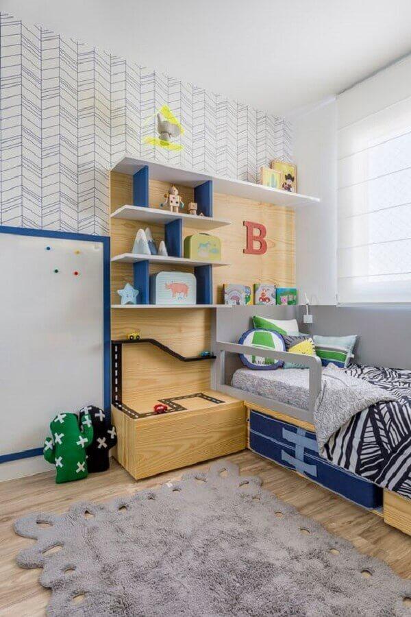 decoração de quarto para criança menino Foto MamãeAchei!