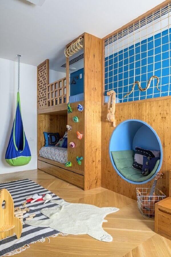 decoração de quarto para criança planejado Foto NaToca Design