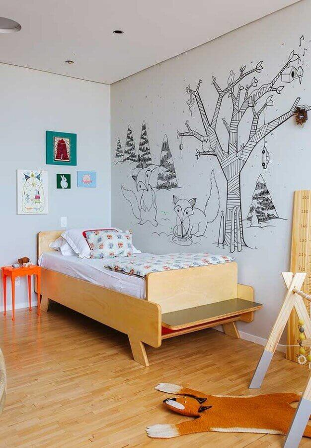decoração de quarto para criança simples Foto Histórias de Casa
