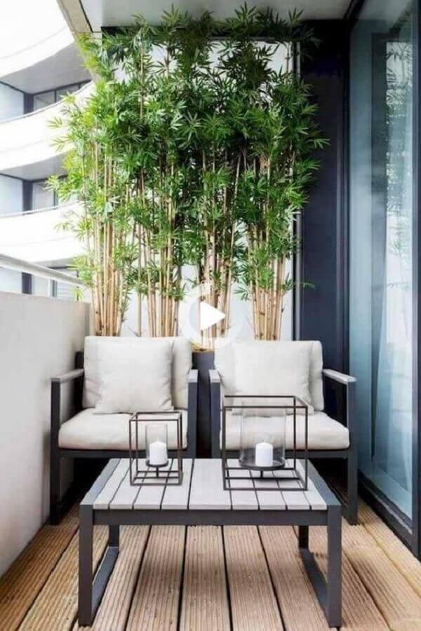decoração simples com conjunto de poltronas para varanda Foto Houzz