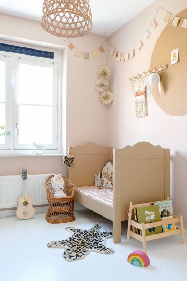 decoração simples de quarto para criança Foto Pinterest