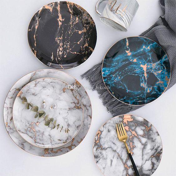 Jogo de pratos porcelana
