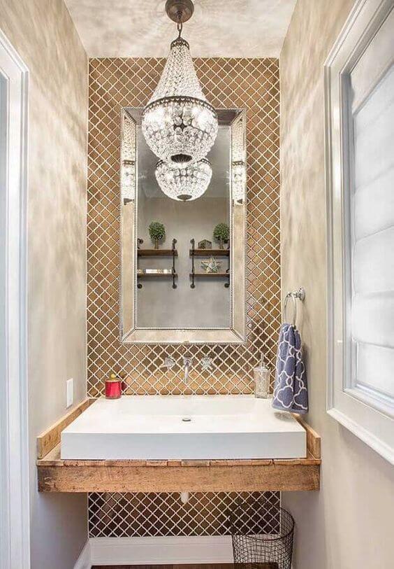 Pendente para lavabo