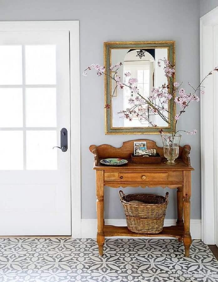 modelo rústico de aparador para hall de entrada pequeno Foto House & Home