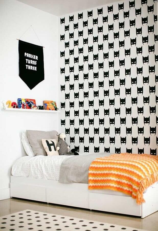 papel de parede para quarto de criança preto e branco Foto Home Fashion Trend