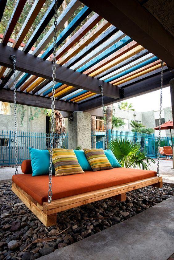 Que tal pintar seu espaço com diferentes cores?