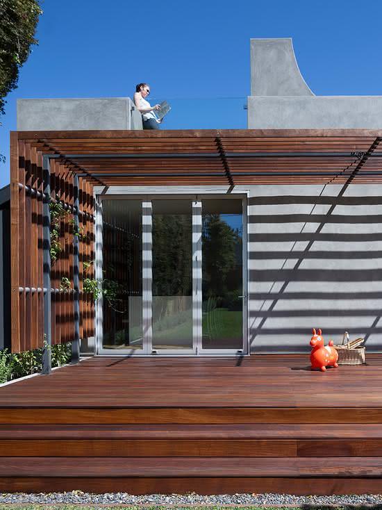 Capriche na fachada da casa