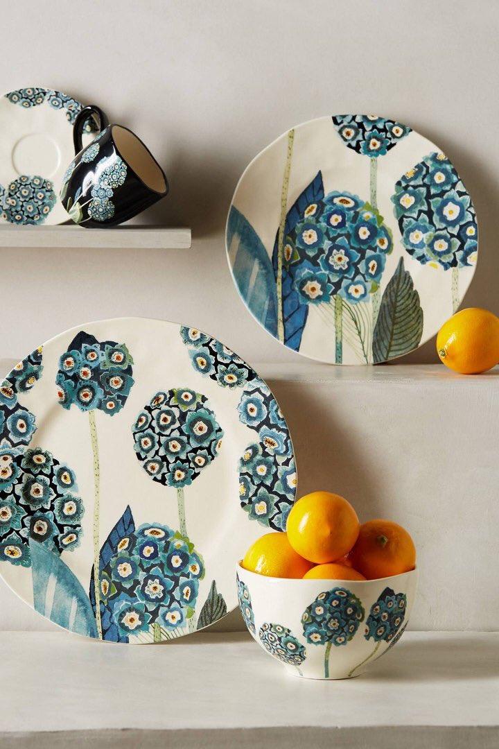 Pratos de porcelana para decorar sua cozinha