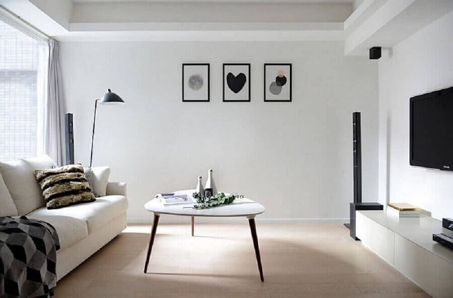 quadros para decoração de sala minimalista simples Foto Home Fashion Trend