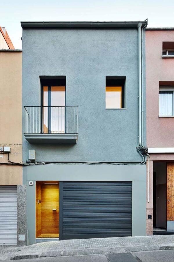 Casas modernas com cores claras para área externa