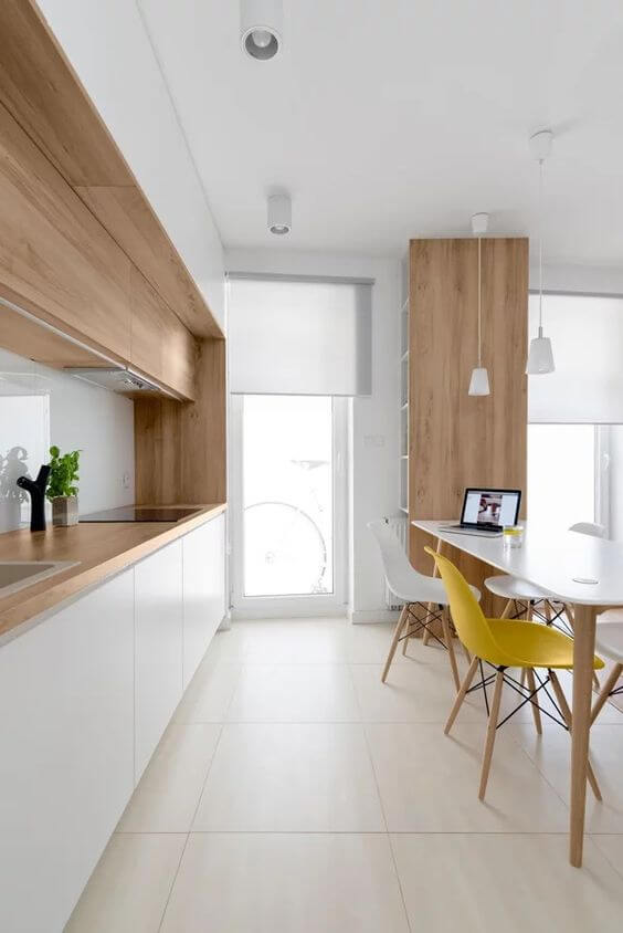 Tipos de porcelanato para cozinha com acabamento acetinado