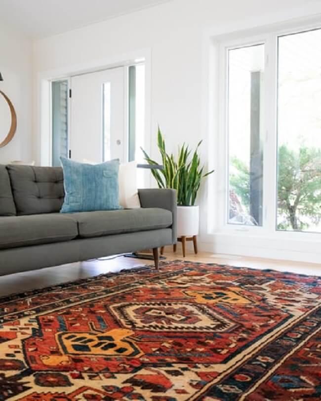 O tapete é o coringa das estampas e das texturas na decoração
