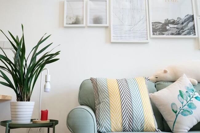 Os tecidos e as estampas são grandes aliados das texturas na decoração