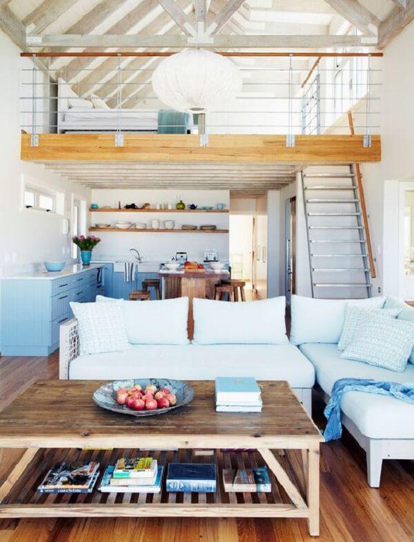 A cama mezanino otimiza os espaços da casa