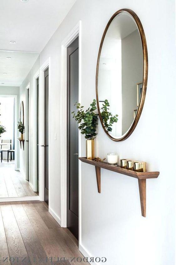 Aparador de parede simples