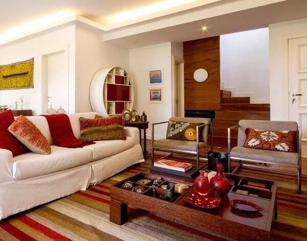 Capa de sofá para sala de estar
