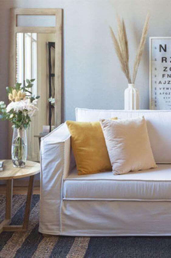 Capa de sofá feito sob medida