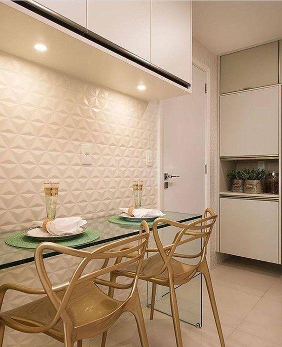 Ceramica 3d para cozinha moderna