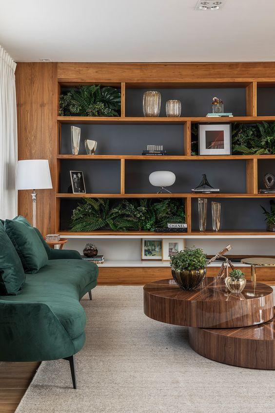 Cores de móveis de madeira