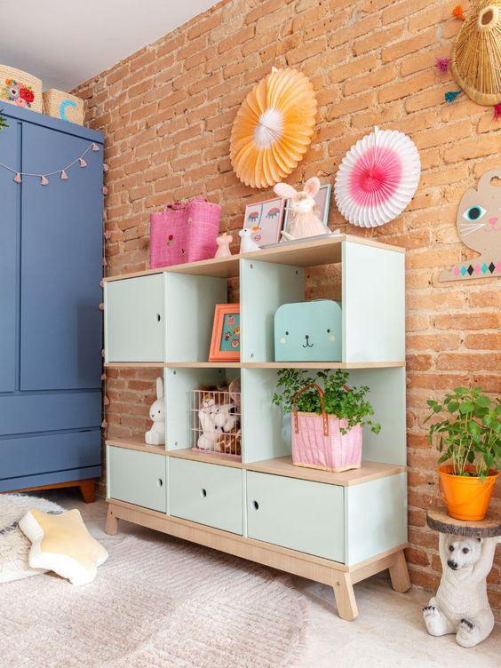Cores de móveis para quarto infantil