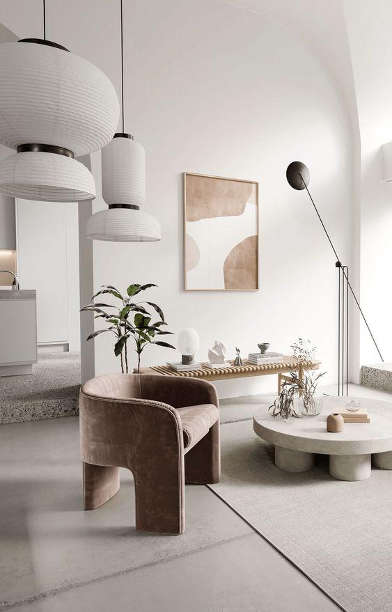 Cores de móveis para sala neutra