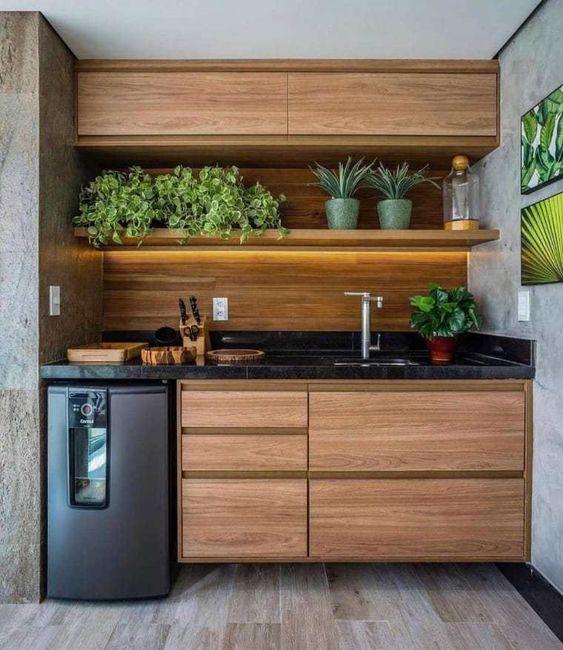 Cores de móveis planejados para cozinha