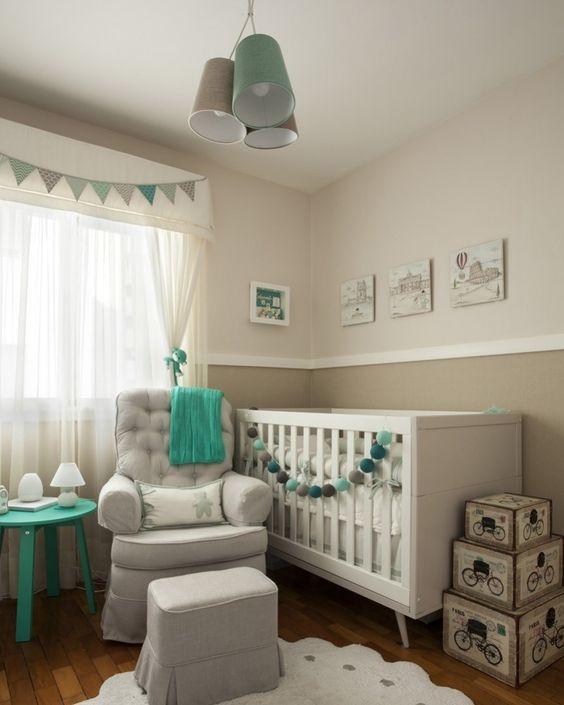Lustre infantil para quarto de bebê