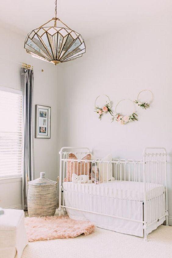 Lustre infantil para quarto de bebe chique