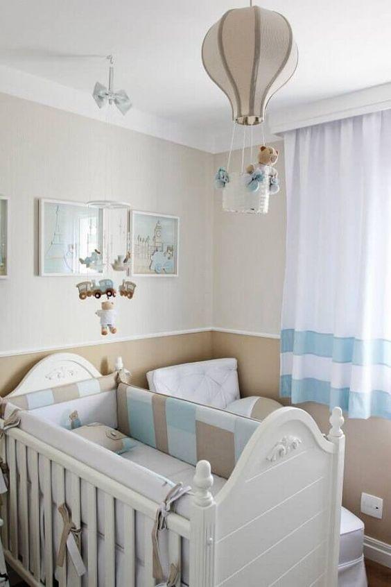 Lustre para quarto infantil de balão
