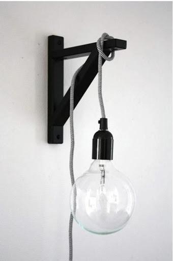 Mão francesa para iluminação