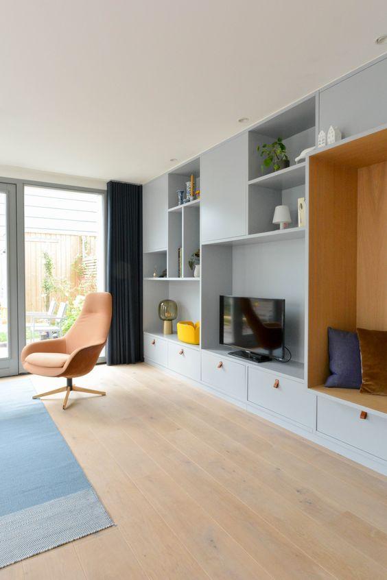 Móveis planejados para sala de estar