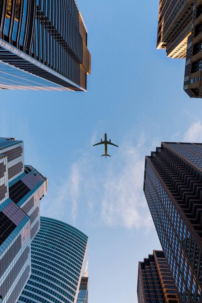 Morar próxima a rota de avião pode ser prejudicial à sua saúde