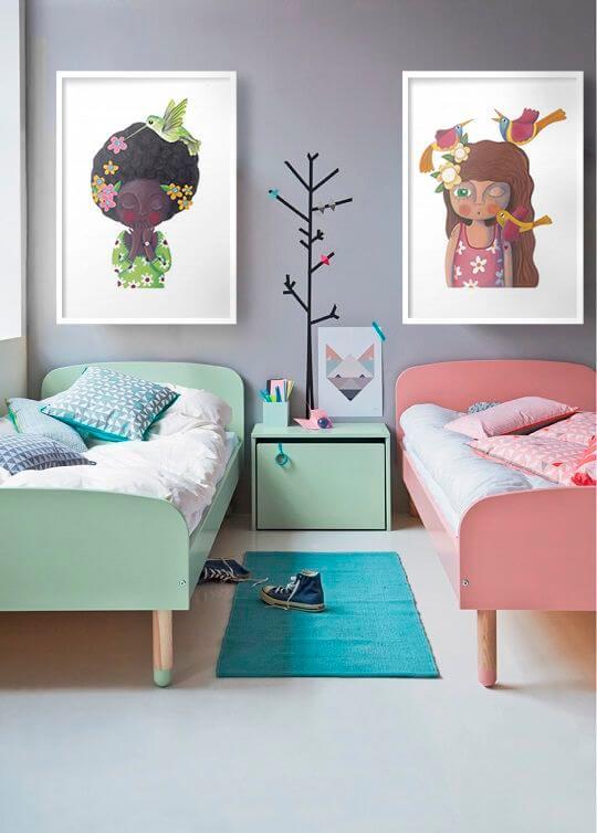 Quadro infantil criativo moderno