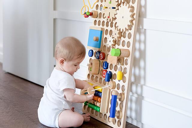 Quadro interativo para crianças
