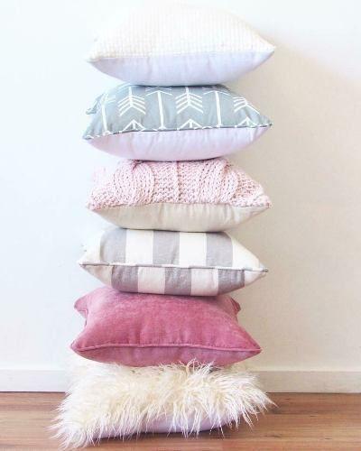 Tecido para almofada de cores diferentes
