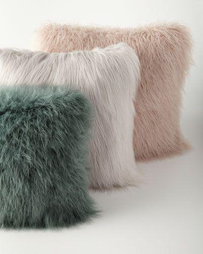 Tecido para almofada peludo