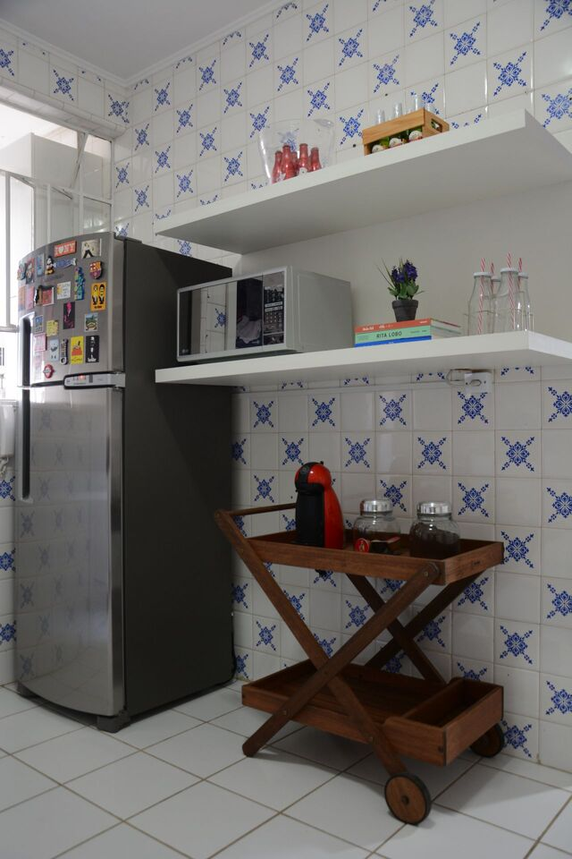 Use cerâmica para cozinha e deixe a parede mais bonita