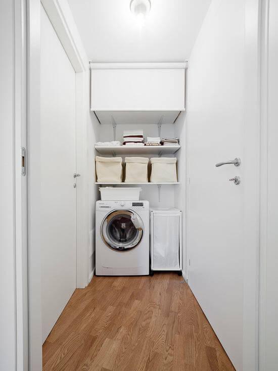 Lavanderia simples escondida