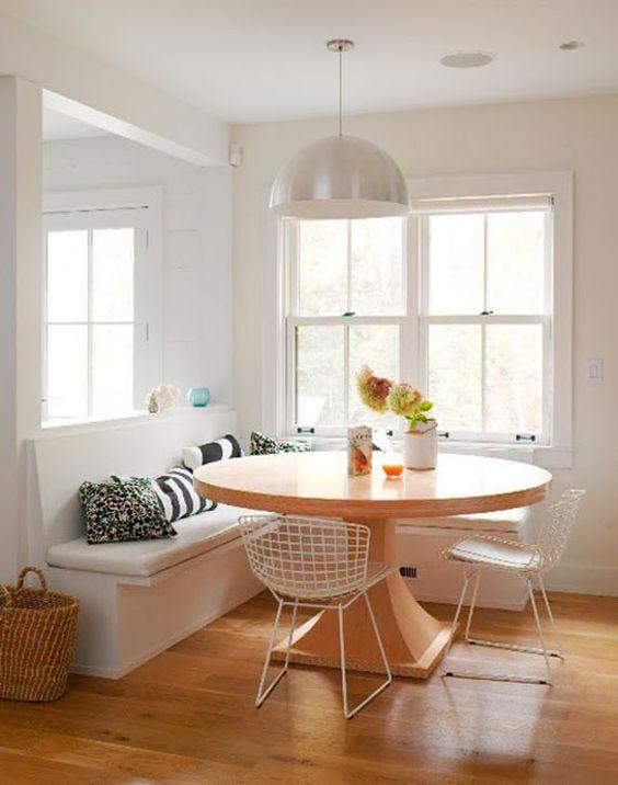 Lustre branco para sala de jantar
