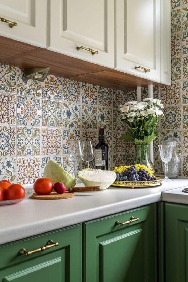 Modelos de azulejos para cozinha antigo
