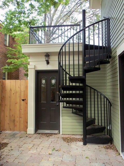 Revestimento para escada de ferro é de longe uma das opções mais populares