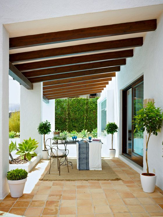 Cerâmica para área externa na varanda