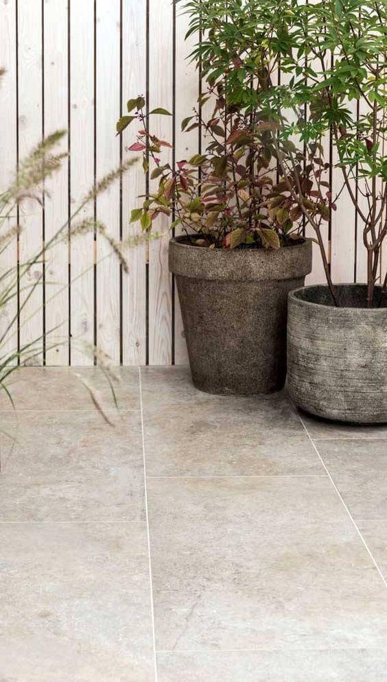 Cerâmica para área externa fosco e antiderrapante