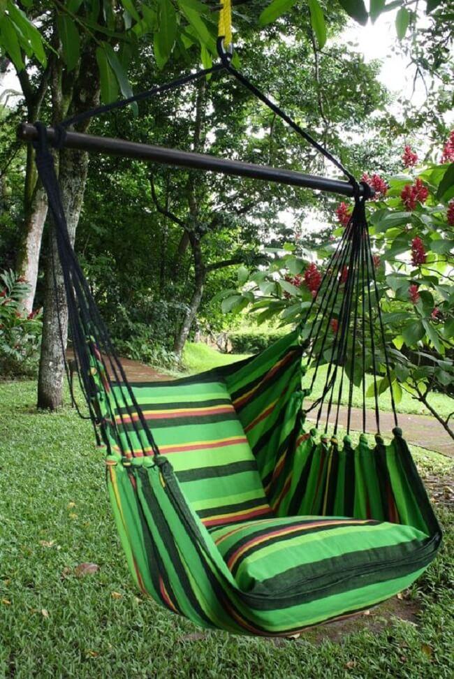 Com tantas opções é fácil encontrar a rede cadeira perfeita para a sua decoração