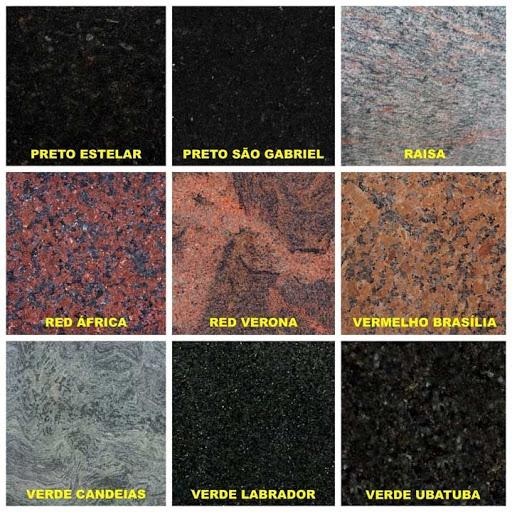Cores para bancada de granito preto