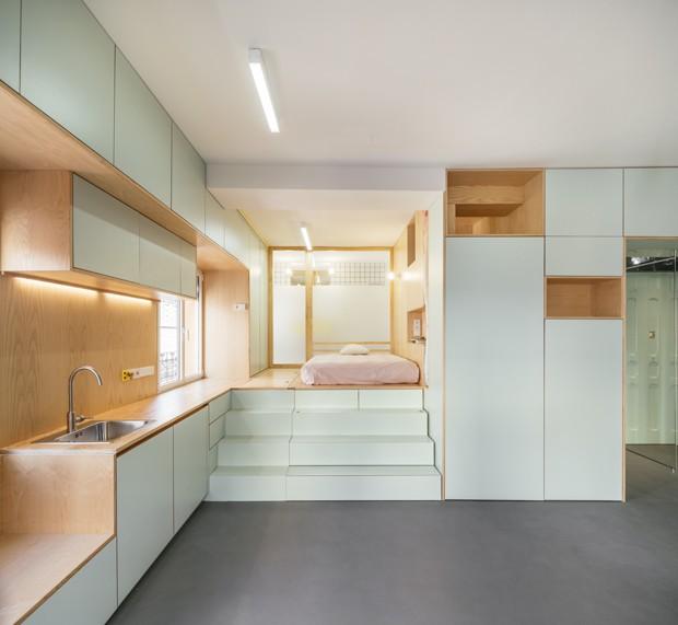 Marcenaria inteligente para micro apartamentos