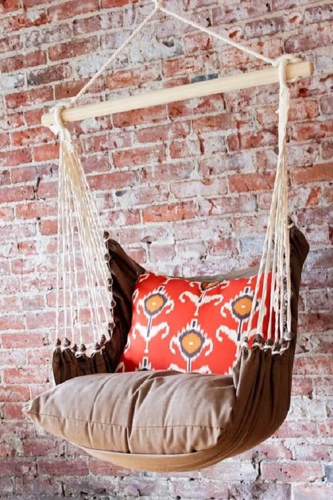 Modelo confortável de cadeira de balanço rede