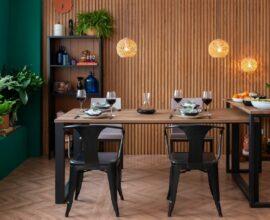 Peças que vão fazer você amar sua sala de jantar. Fonte: Mobly