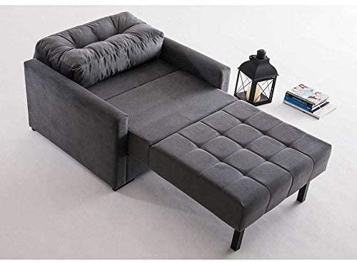 Poltrona cama cinza