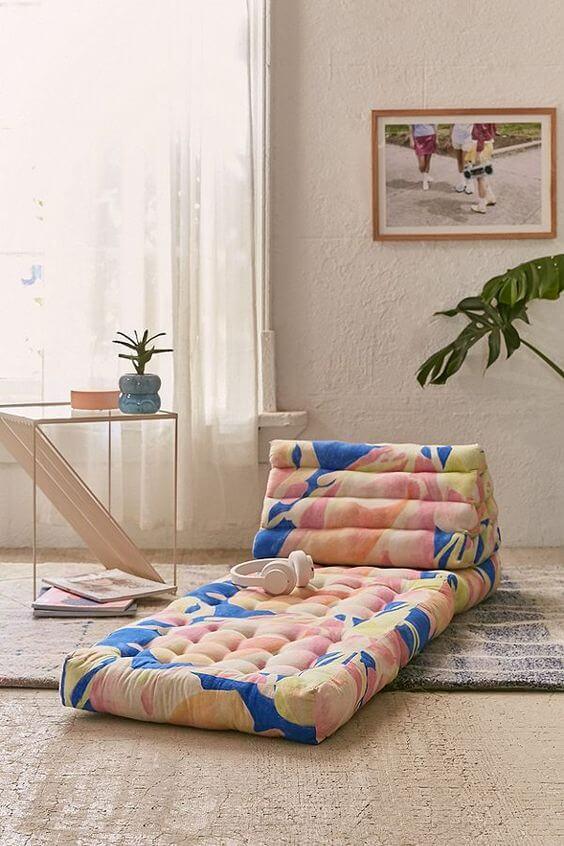 Poltrona cama de futon